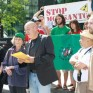 Press-Conference-Solidarity-action-Haitian-Consulate-Montreal June4-2010