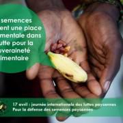 semences et souveraineté alimemtaire