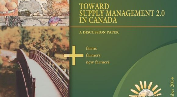 Toward Supply Management 2.0 in Canada (cover picture)