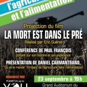 Conférence notre santé, l'agriculture et l'alimentation