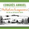 Congrès 2016 Union Paysanne