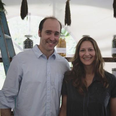 Philippe Choinière et Stacey Lécuyer