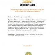 thumbnail of Memoire PECC – Union paysanne
